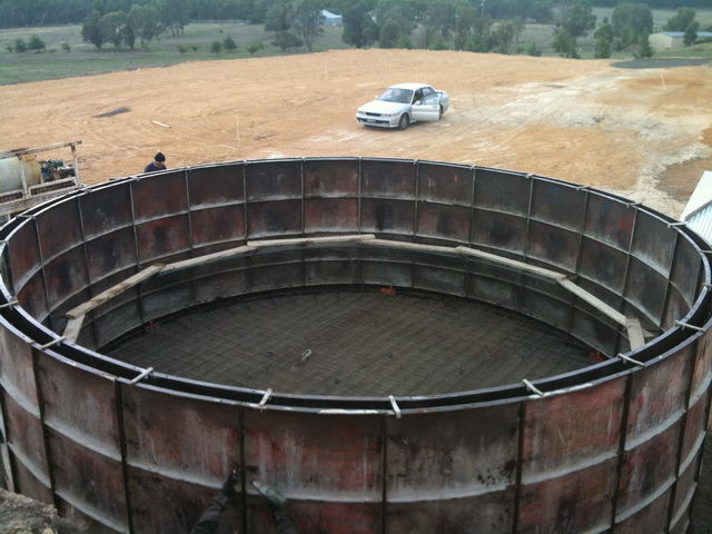 Underground Water Tank Construction : Armstrong concrete water tanks